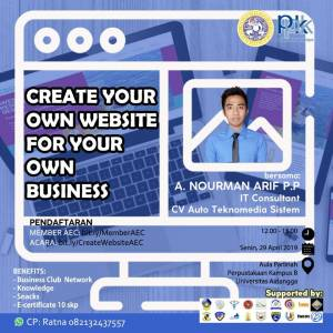 airlangga-career-club-create-your-own-website-for-your-own-bussiness